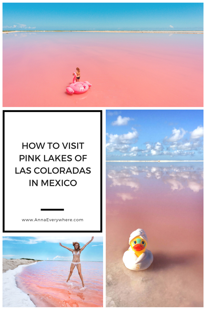How to Visit Pink Lakes of Las Coloradas in Mexico