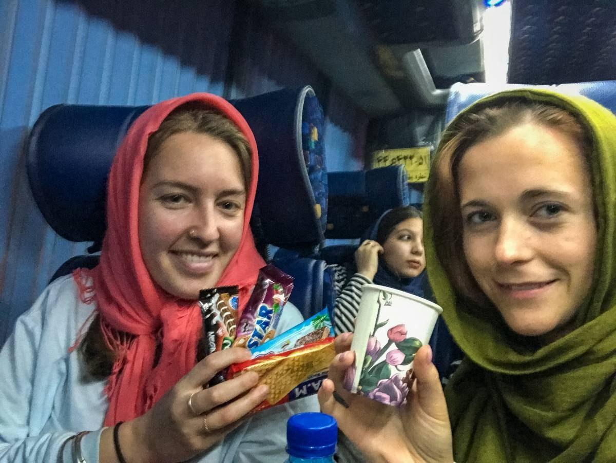 buses in Iran