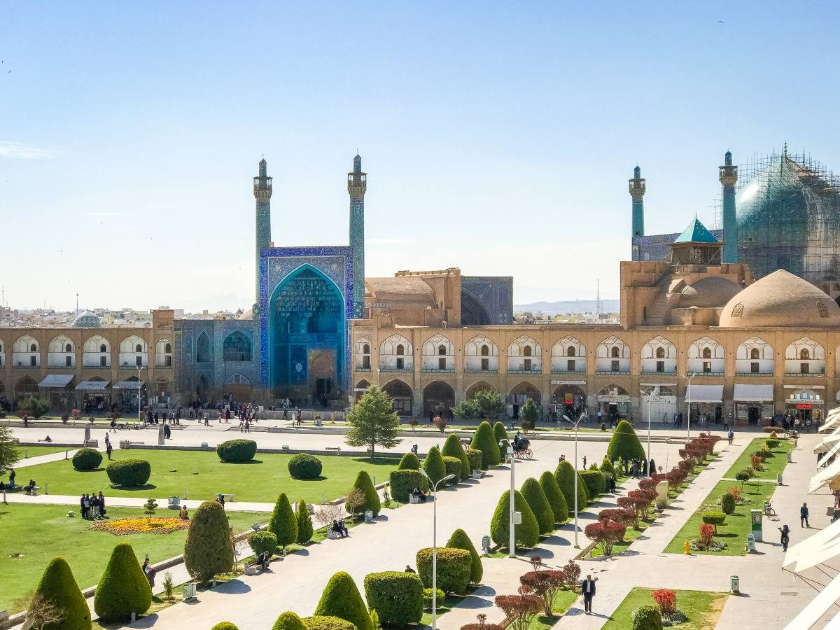 Iran backpacking
