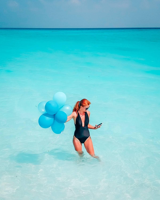Maldives drone