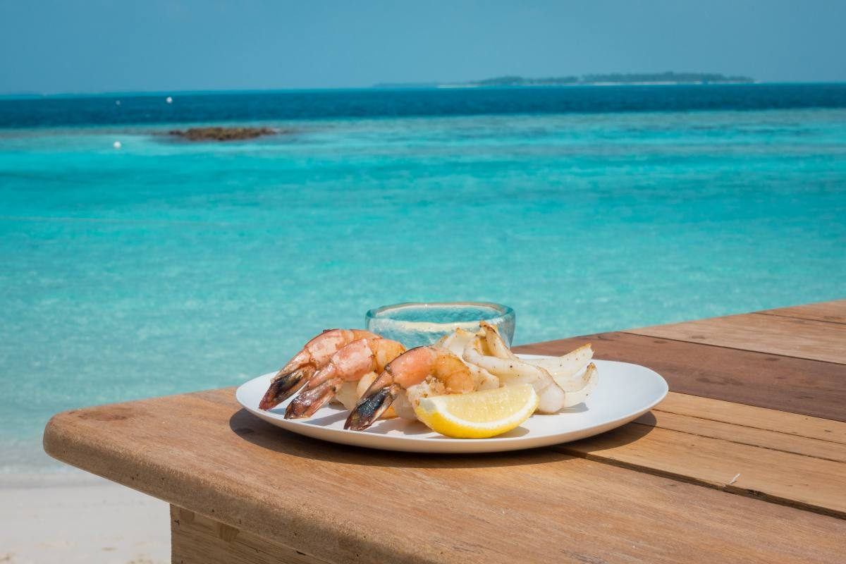 seafood Maldives