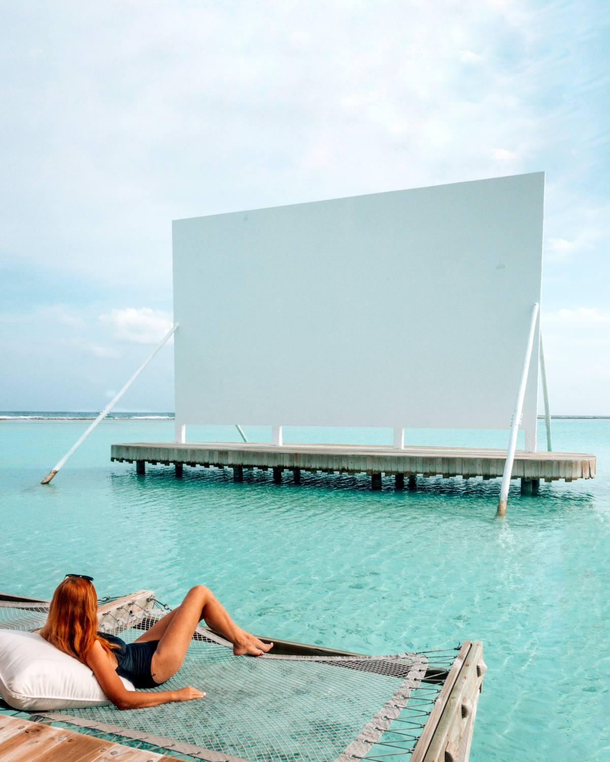 solo traveler in Maldives