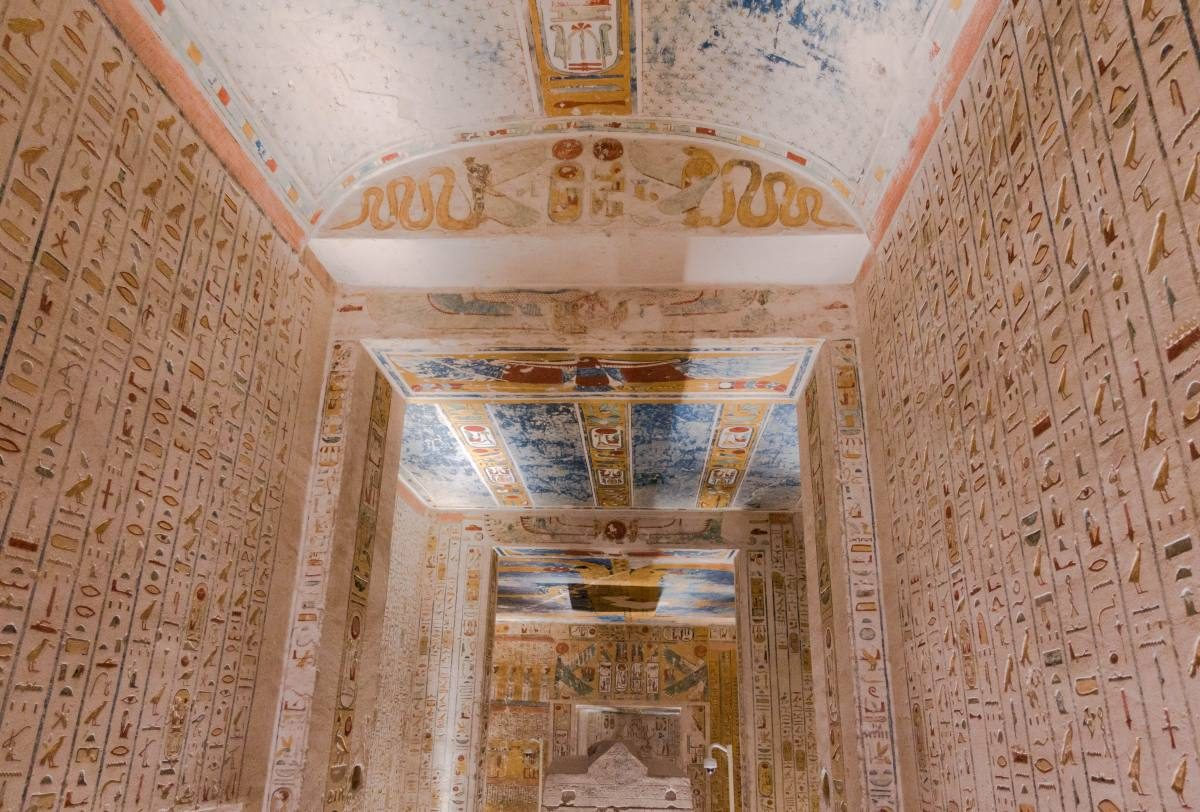 Ramses IV tomb Valley of the Kings