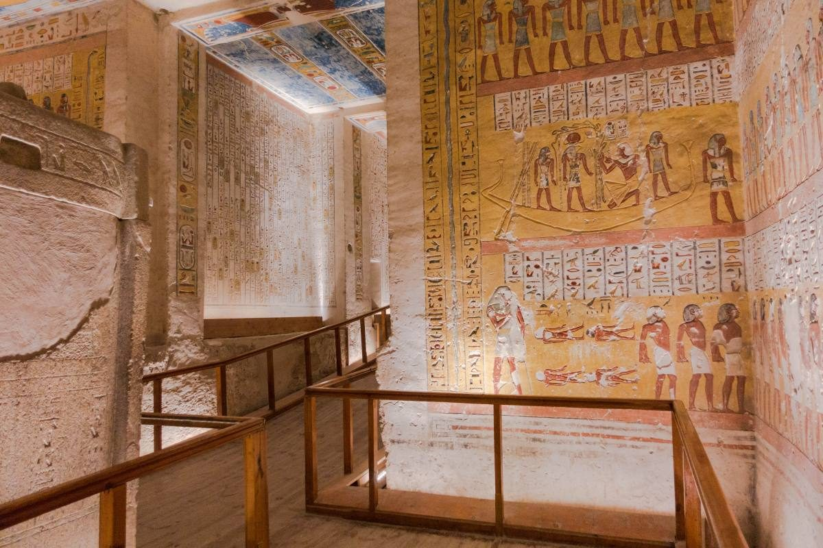 Valley of the Kings - Ramses IV
