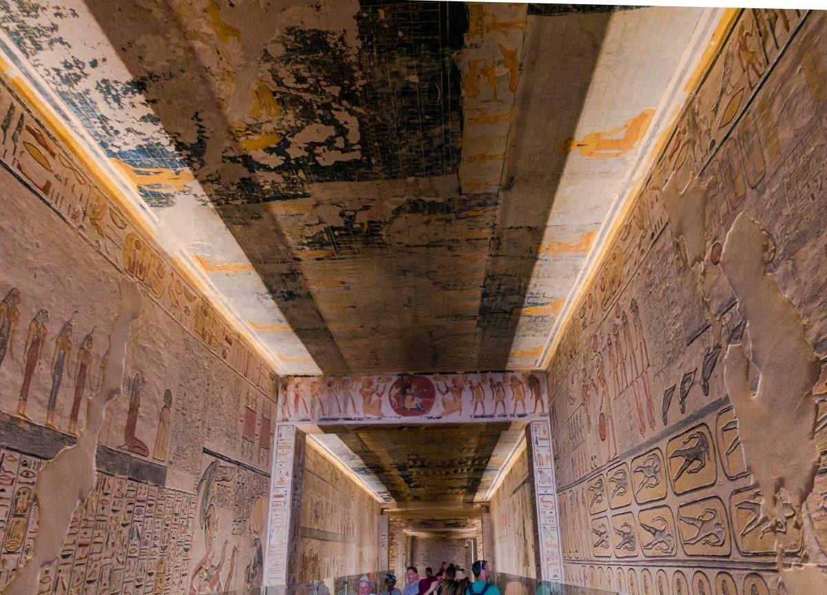 Ramses IX Tomb Photos