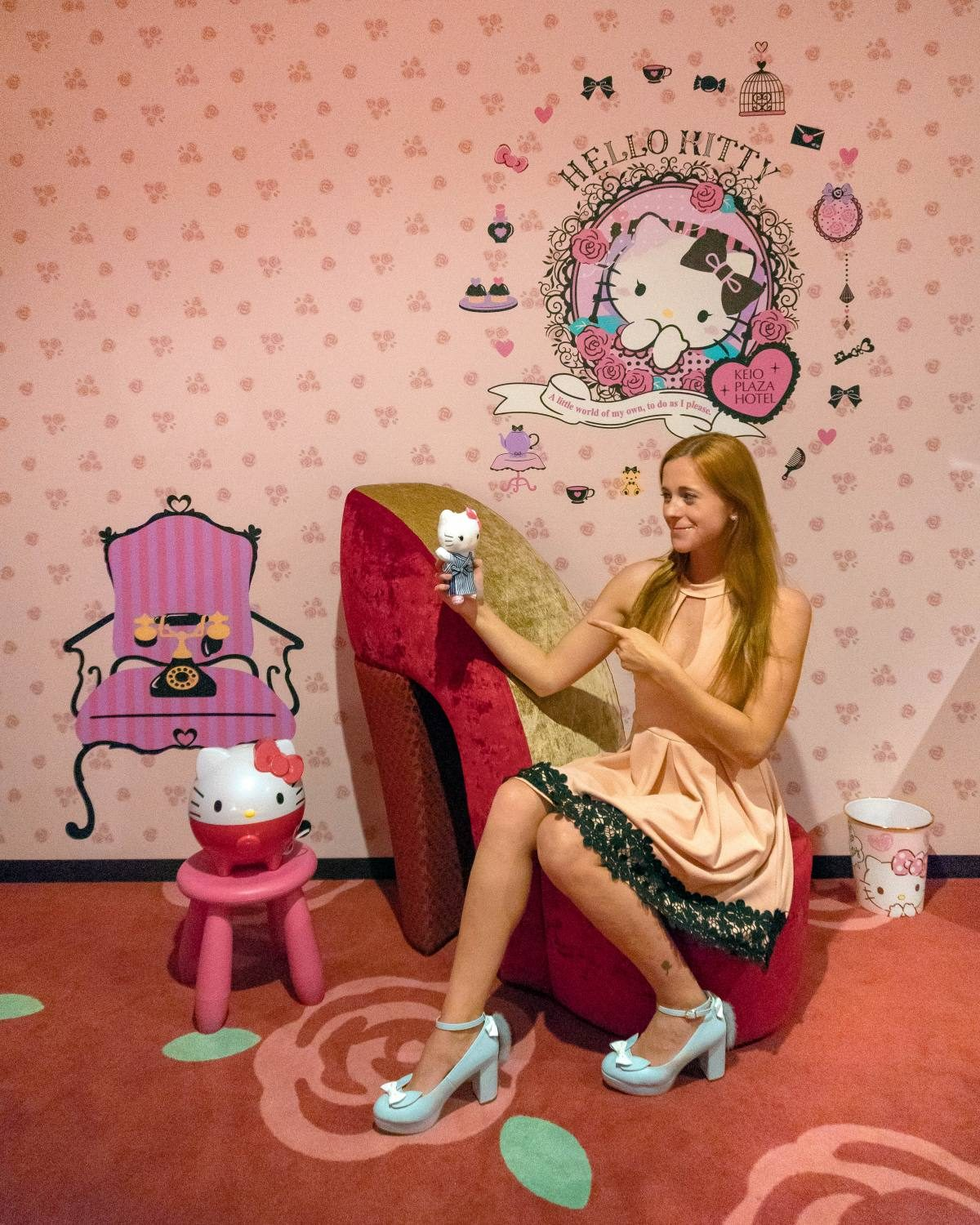 Hello Kitty room Keio Plaza Hotel