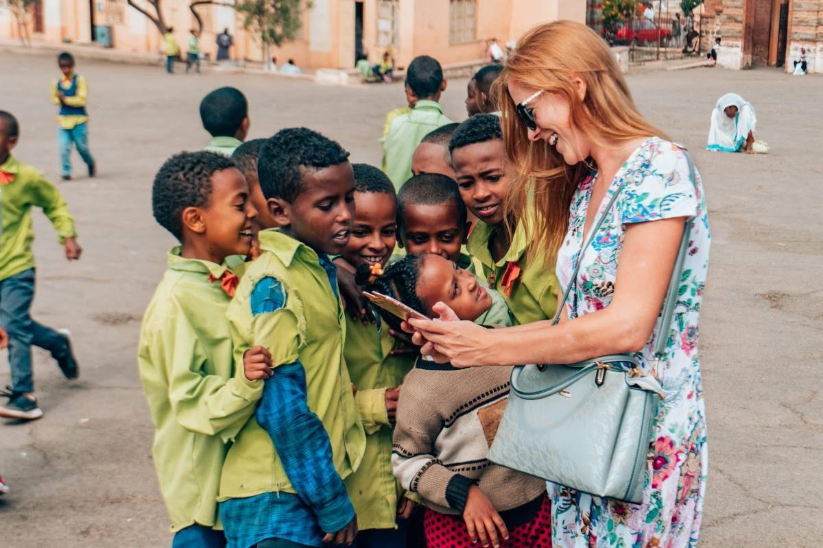 kids in Eritrea