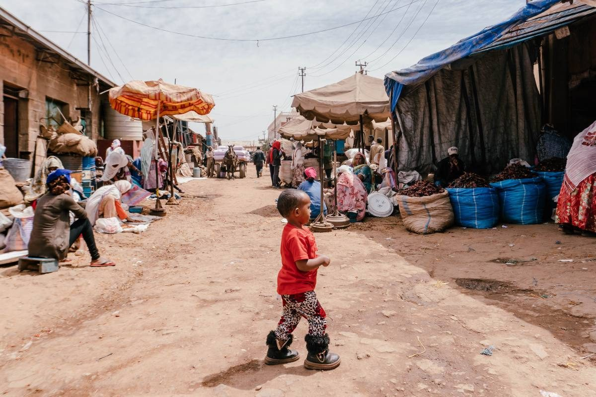 boy in Eritrea