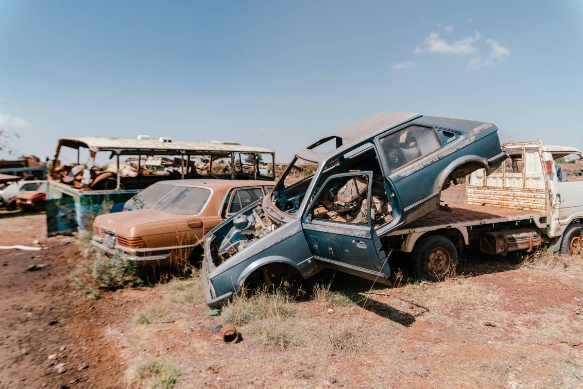 tanks graveyard Eritrea