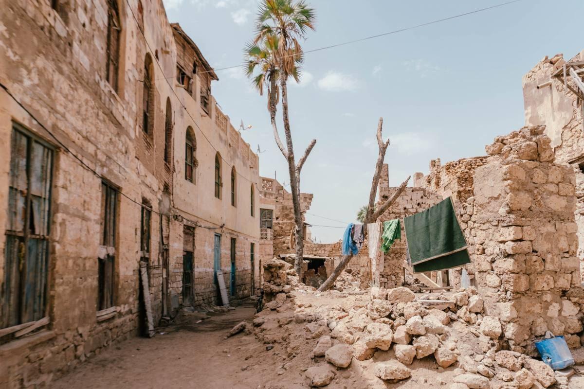 Massawa in Eritrea