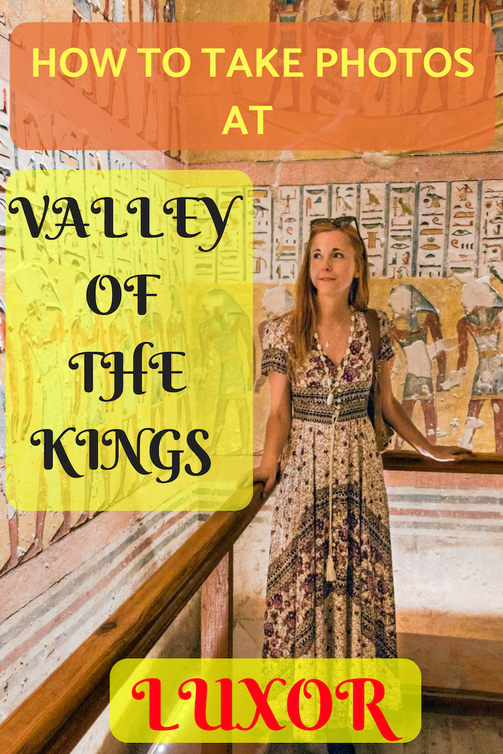 Photography Valley of the Kings Luxor