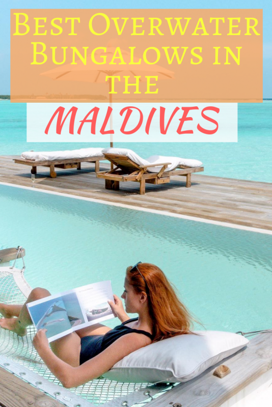 Best overwater bungalows in Maldives
