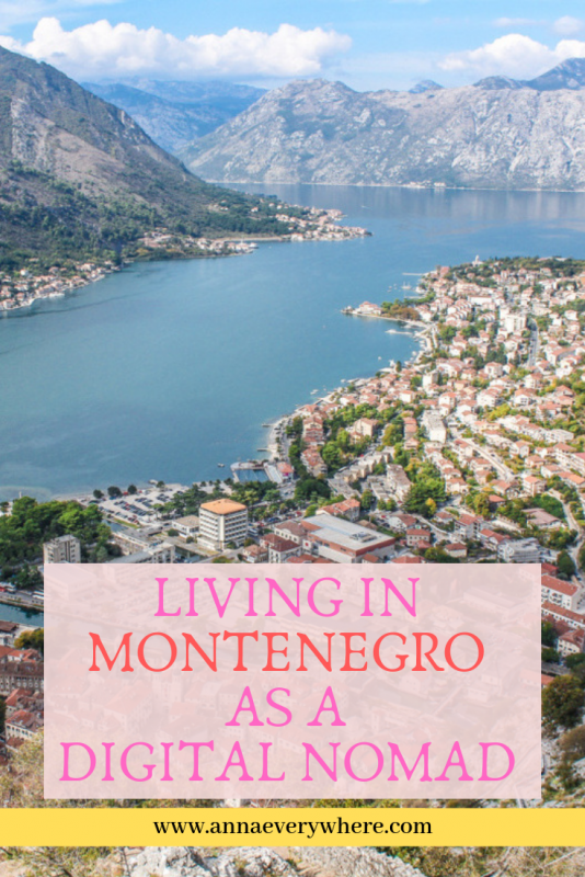 Living in Montenegro As a Digital Nomad