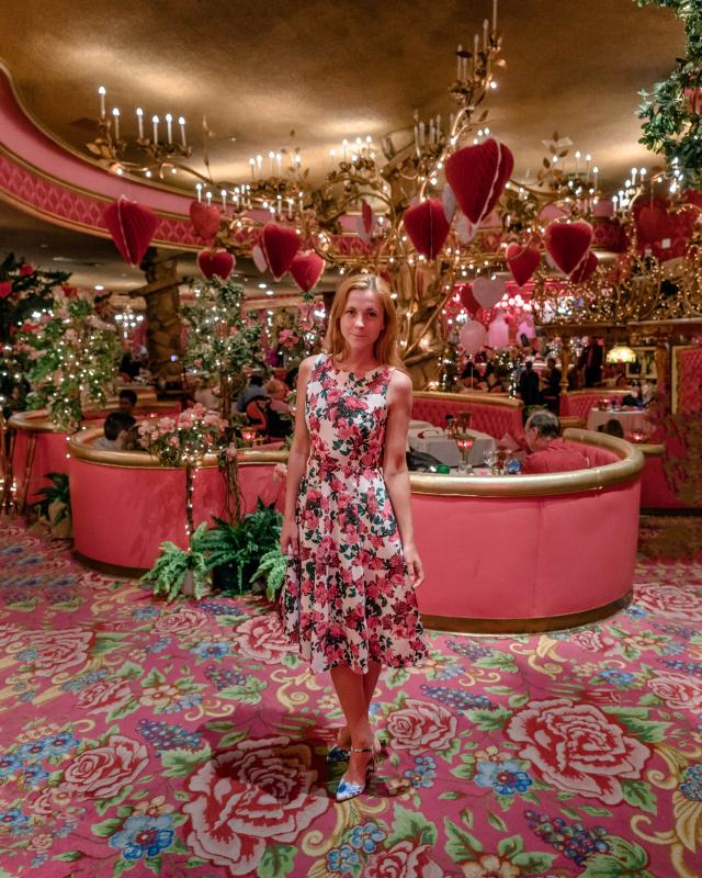 Madonna Inn Restaurant Valentine's Day