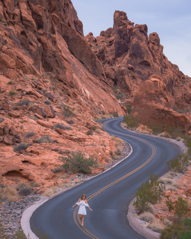 valley of fire road nevada