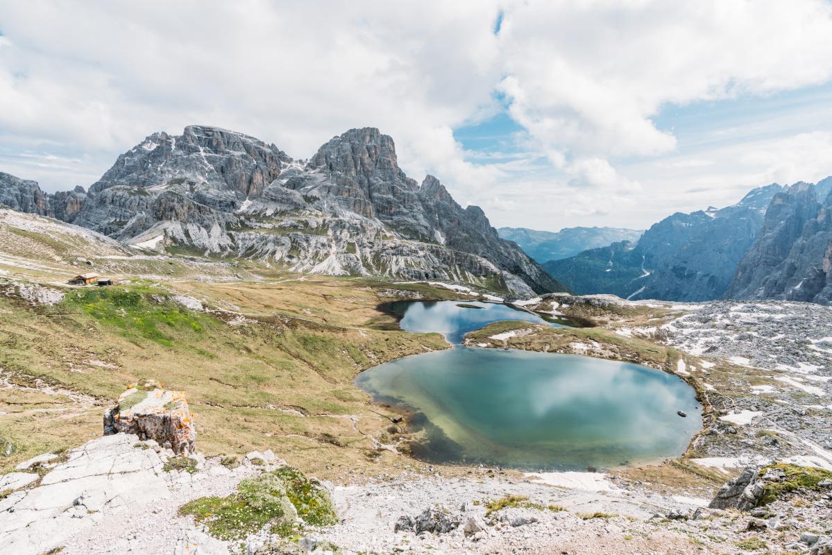hiking Tre Cime di Lavadero