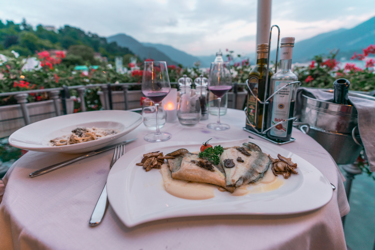 where to eat in Lake Como