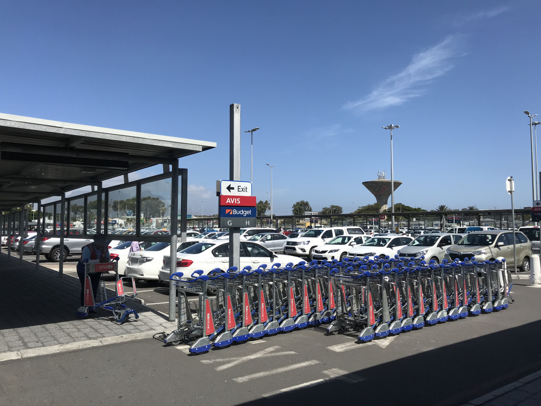 Car Rental Pick Up at Cape Town Airport