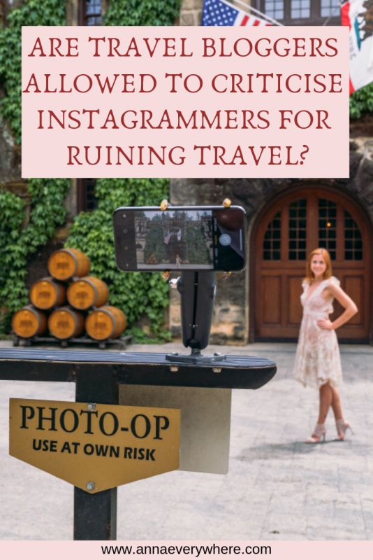 Are Travel Bloggers Allowed to Criticize Instagrammers for Ruining Travel?