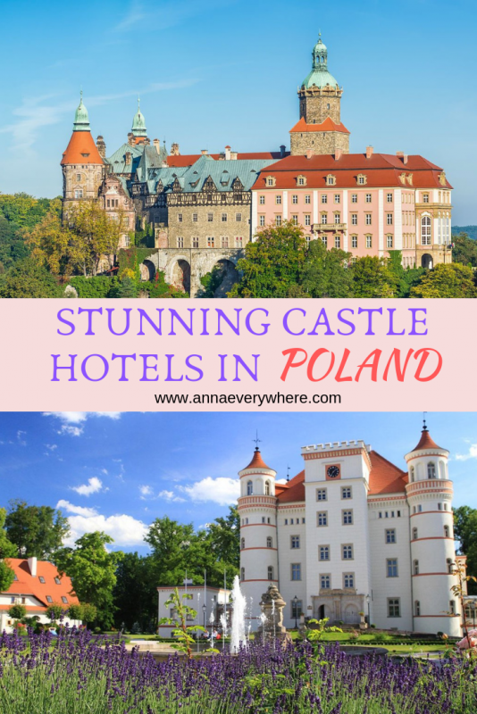 Stunning Castle Hotels in Poland