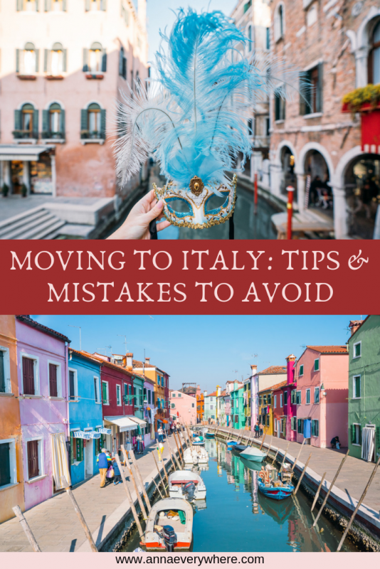 Moving to Italy: Tips & Mistakes to Avoid