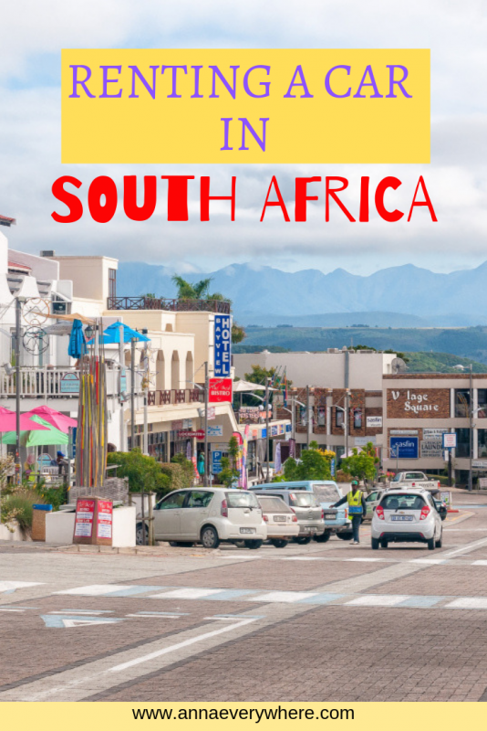 Renting a Car in South Africa