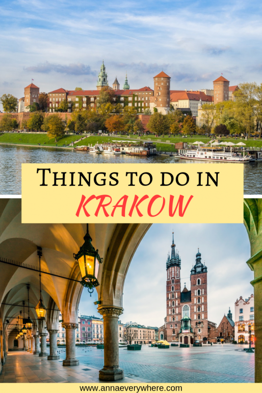 Visiting Krakow in Poland