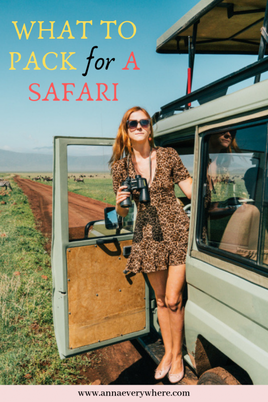 What to Wear on a Safari