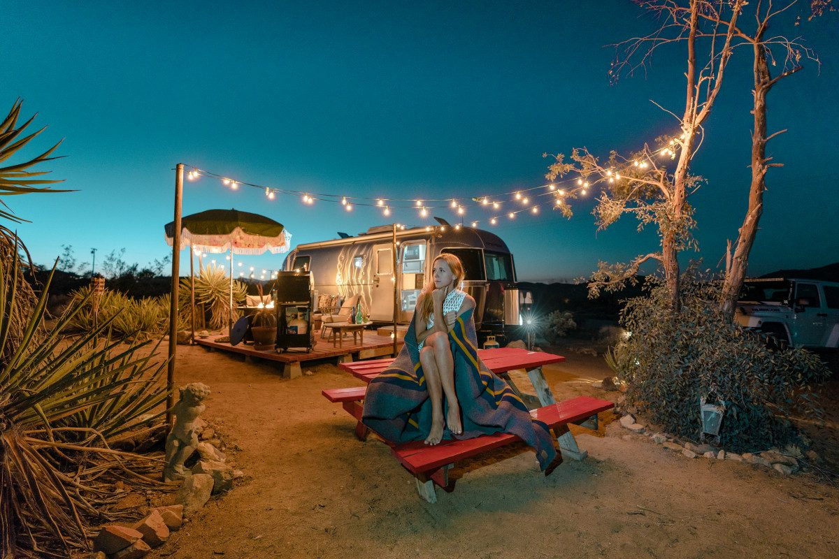 Glamp at Joshua Tree National Park