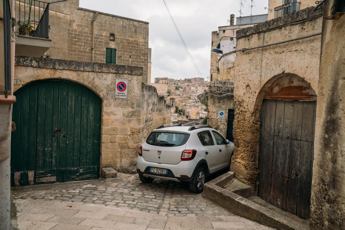 Matera car rental