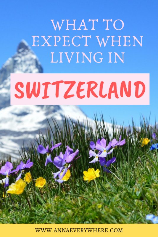 Living in Switzerland