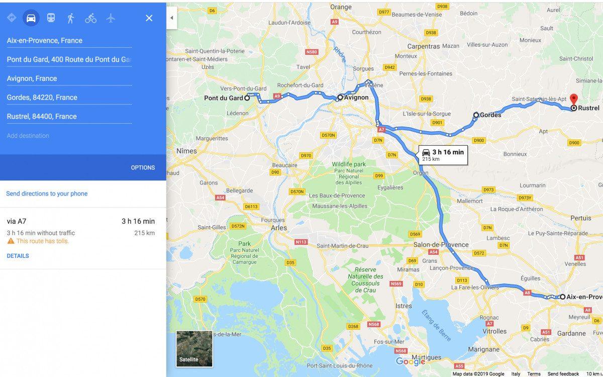 Pont du Gard - Avignon - Rustrel