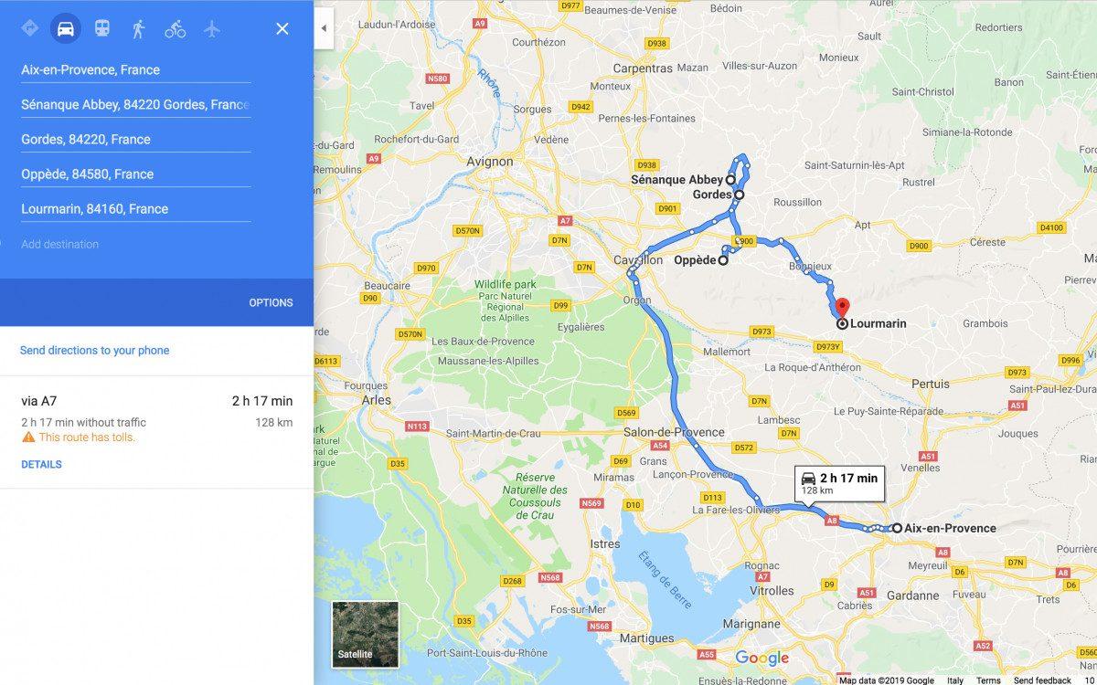Day 5: Luberon Valley: Senanque - Gordes - Menerbes - Lourmarin (optional: Oppede)