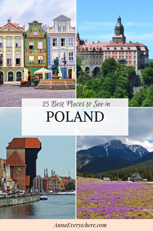 25 Places to See in Poland