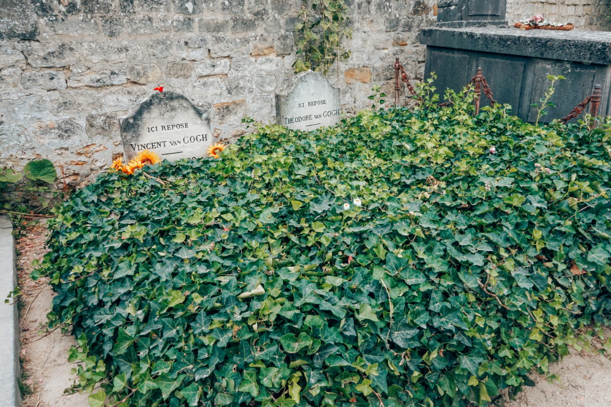 van Gogh tomb