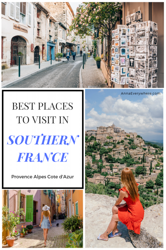 Provence Alpes Cote d'Azur Itinerary