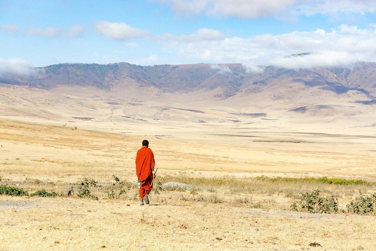 Visiting a Masai Village in Ngorongoro, Tanzania