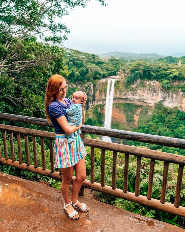 Chamarel waterfall Mauritius