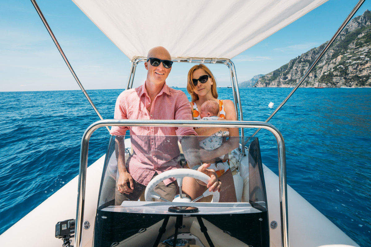 rent a boat in Positano