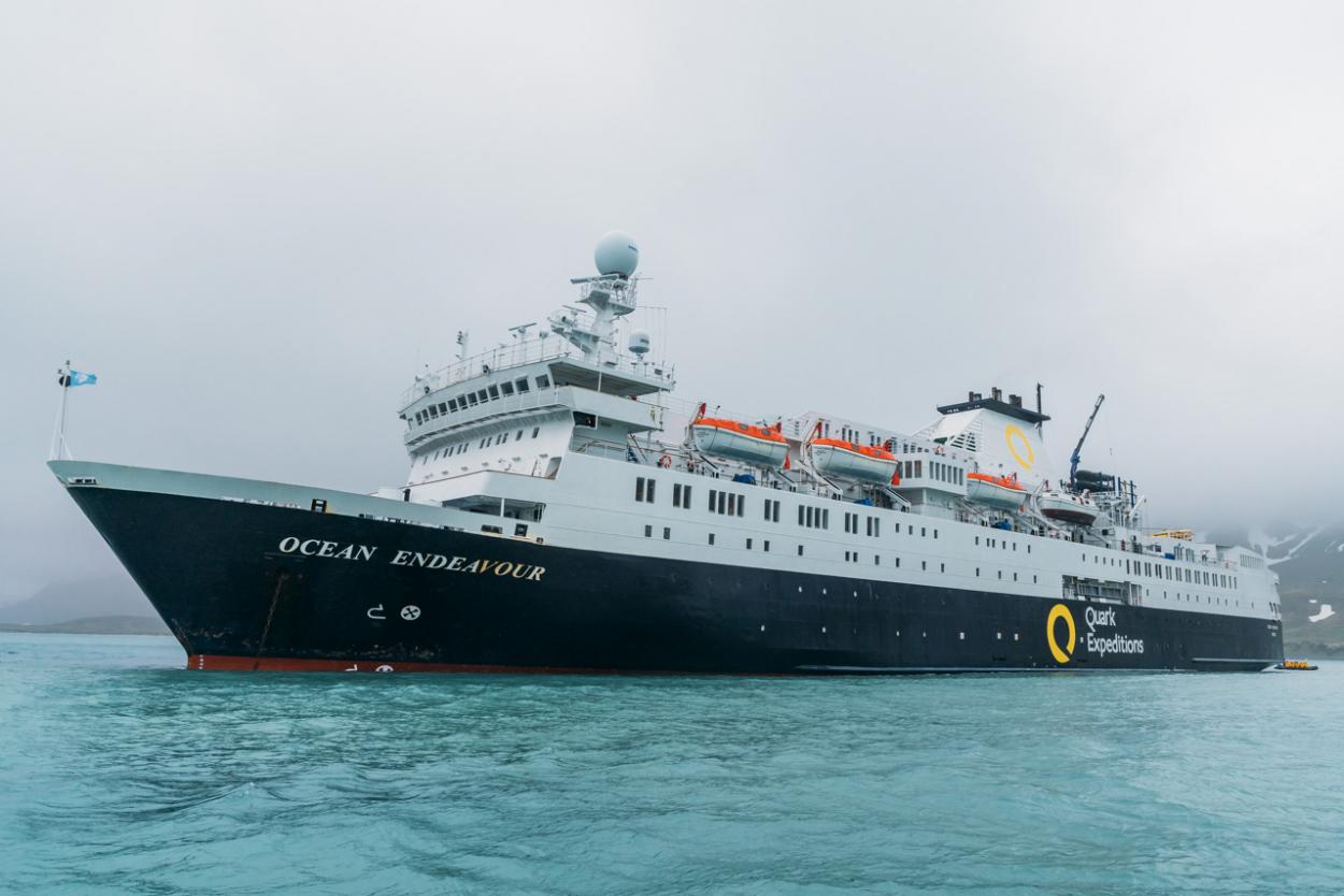 quark expeditions ship