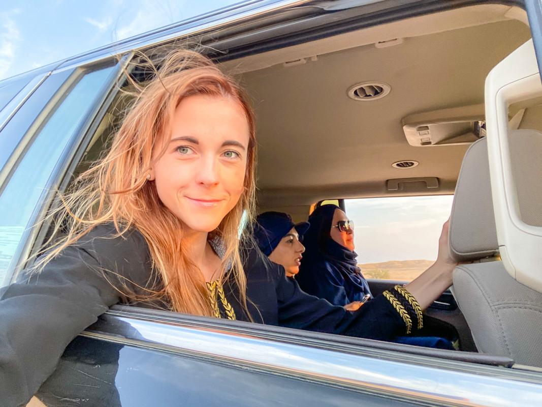 solo female saudi arabia