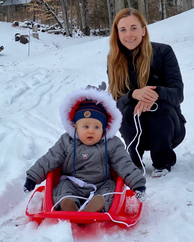 ski holidays with a baby