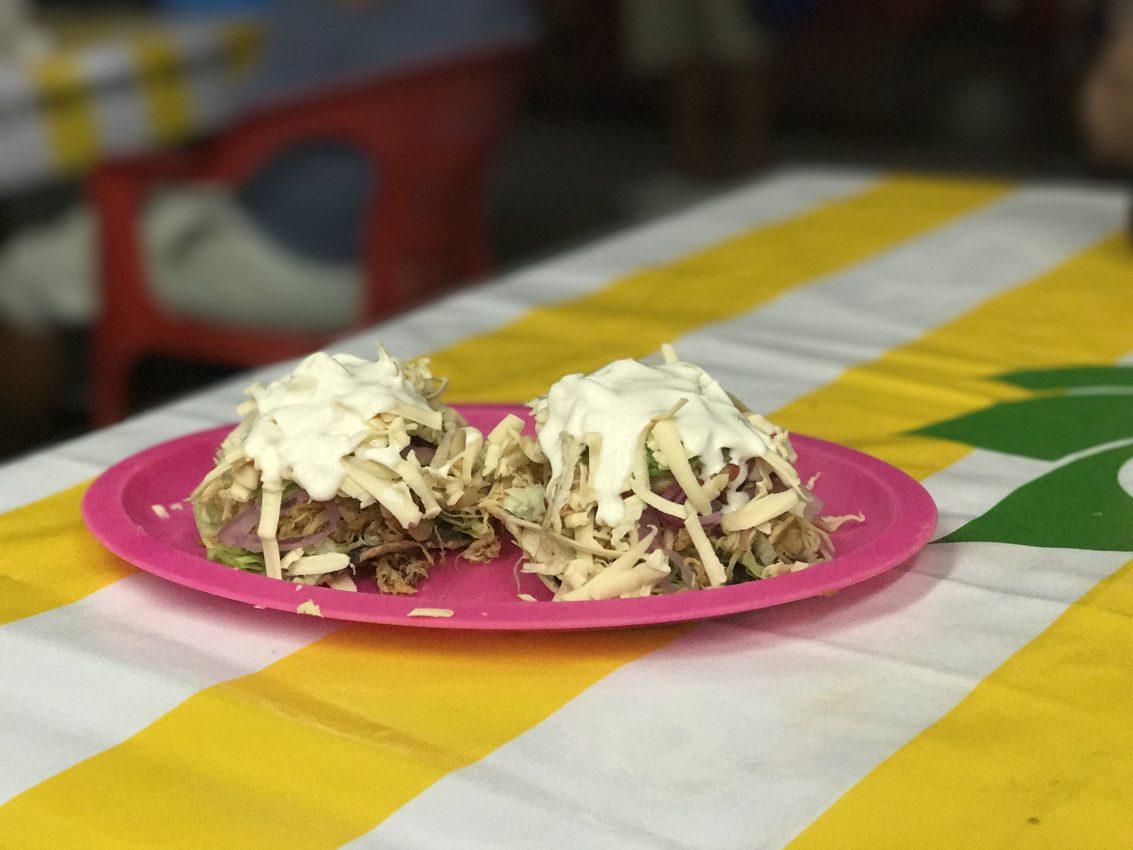 mexican toastadas